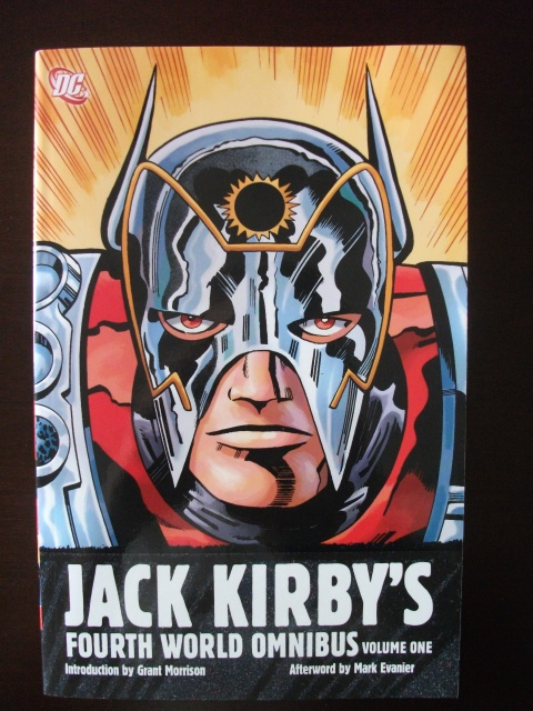 "Jack Kirby's Fourth World Omnibus, Volume 1. From the DC Comics description: ""DC collects Kirby's four classic series of the 1970s — THE NEW GODS, THE FOREVER PEOPLE, MISTER MIRACLE and SUPERMAN'S PAL, JIMMY OLSEN — in chronological order as they originally appeared. These comics spanned galaxies, from the streets of Metropolis to the far-flung worlds of New Genesis and Apokolips, as cosmic-powered heroes and villains struggled for supremacy."""
