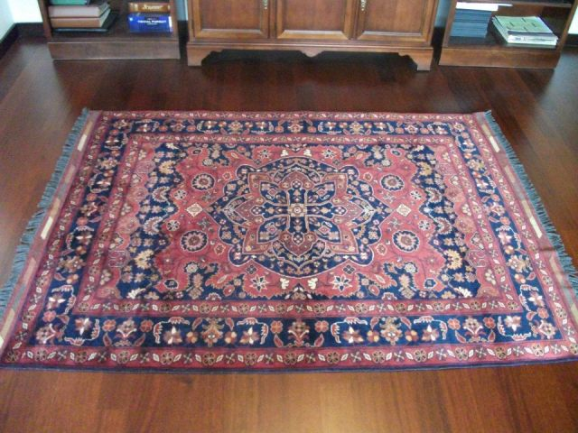 We bought a rug! It measures 5 by 7 and, while purchased in Ulus, the oldest part of Ankara, it was actually crafted in Afghanistan.