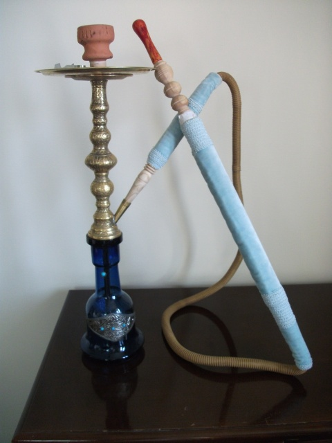 A nargila that I've taken to calling Mavi (Turkish for blue).
